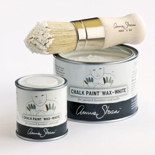Biały wosk 500ml i 120ml White Wax Annie Sloan