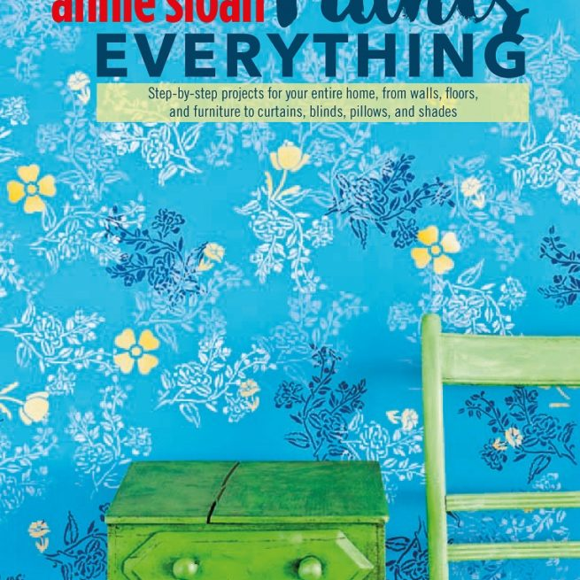 "Ksiażka Annie Sloan ""Paints Everything"""