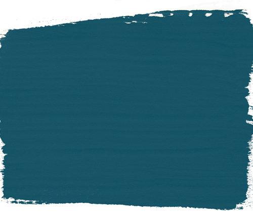 plama barwna w kolorze Aubusson Blue Chalk Paint Annie Sloan