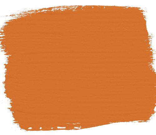plama barwna w kolorze Barcelona Orange Chalk Paint Annie Sloan