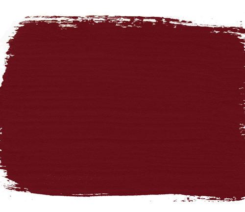 plama barwna w kolorze Burgundy Chalk Paint Annie Sloan