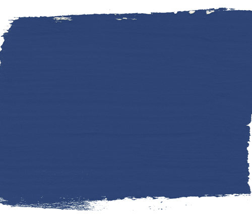 plama barwna w kolorze Napoleonic Blue Chalk Paint Annie Sloan