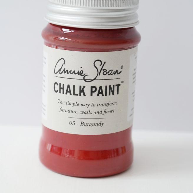 Farba 100ml Burgundy Chalk Paint Annie Sloan