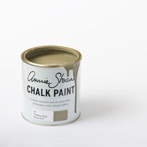 Farba 1L Chateau Grey Chalk paint Annie Sloan otwarta puszka 1L