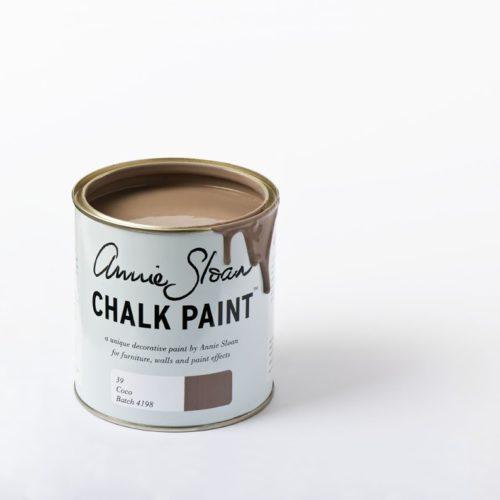 farba 1L Coco Chalk Paint Annie Sloan otwarta puszka 1L