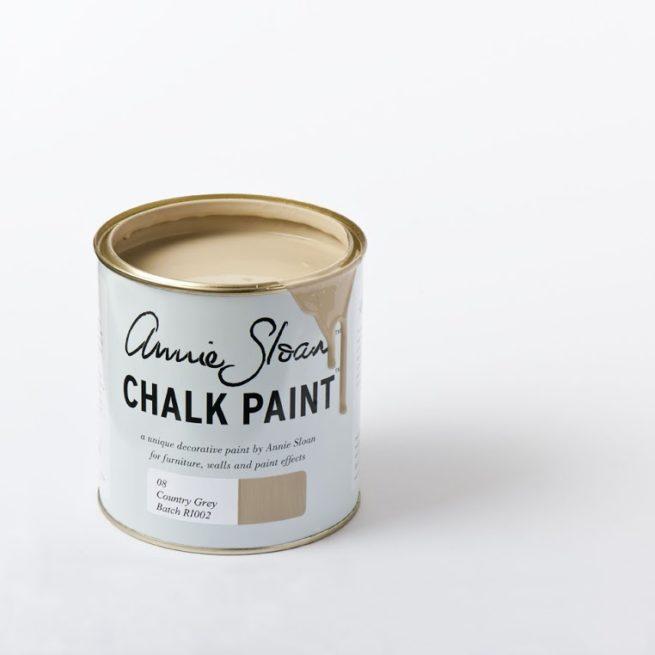 Farba 1L Country Grey Chalk Paint Annie Sloan otwarta puszka 1L