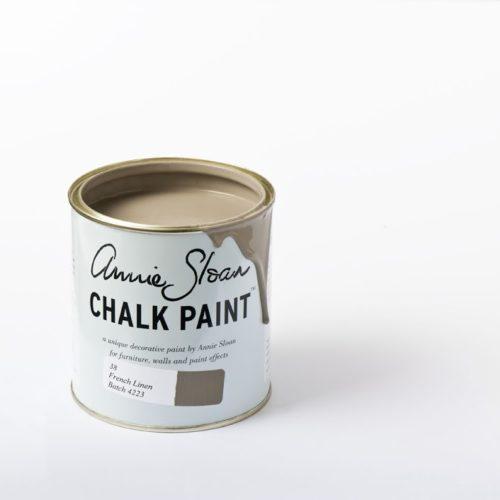 Farba 1L french Linen Chalk paint Annie Sloan otwarta puszka 1L