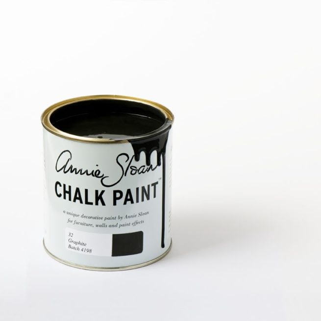 Farba 1L Graphite Chalk Paint Annie Sloan otwarta puszka 1L