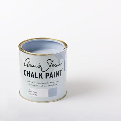 Farba 1L Louis Blue Chalk Paint Annie Sloan otwarta puszka 1L