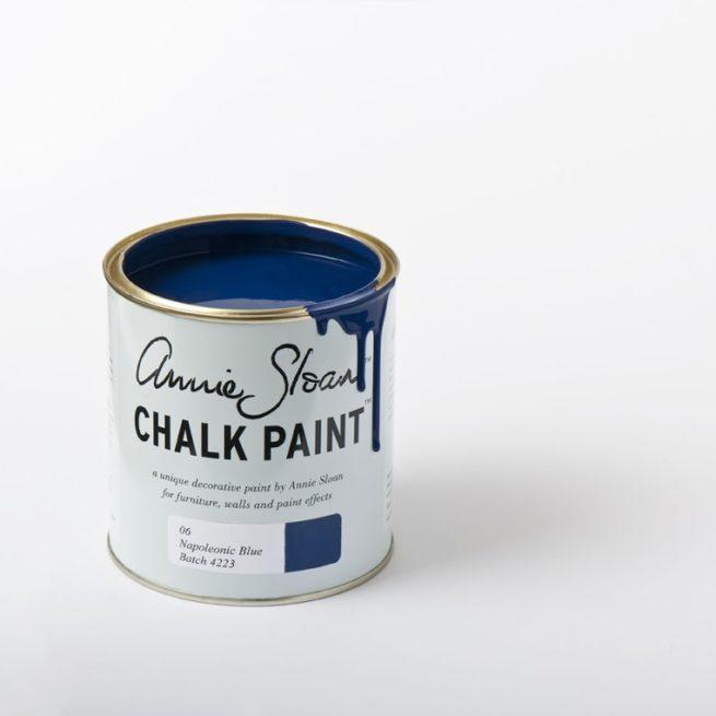 Farba 1L Napoleonic Blue Chalk Paint Annie Sloan
