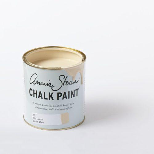 Farba 1L Old Ochre Chalk Paint Annie Sloan otwarta puszka 1L
