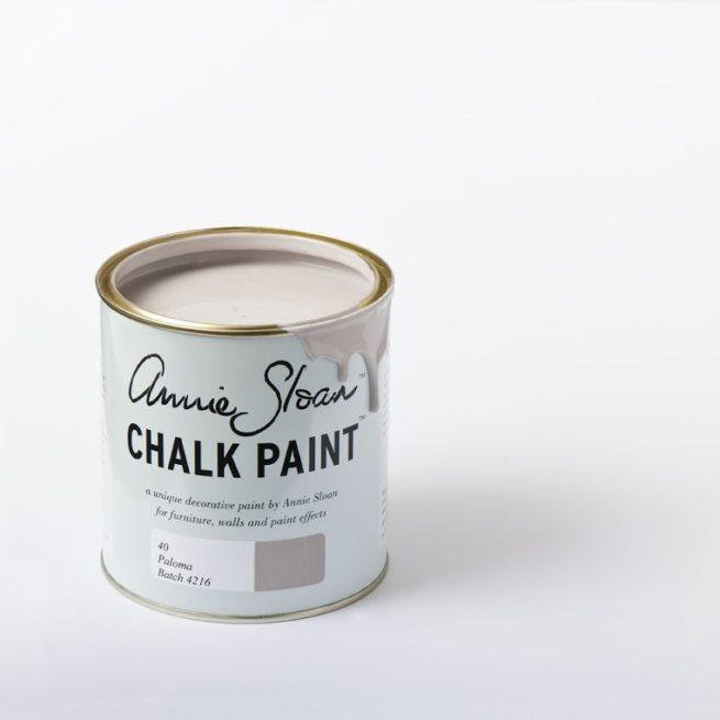 Farba 1L Paloma Chalk Paint Annie Sloan otwarta puszka 1L