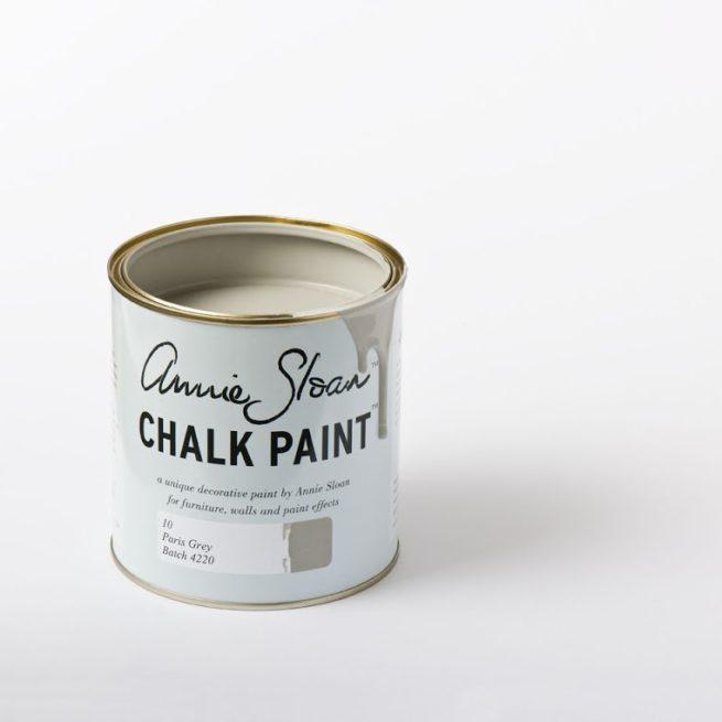 Farba 1L Paris Grey Chalk Paint Annie sloan otwarta puszka 1L