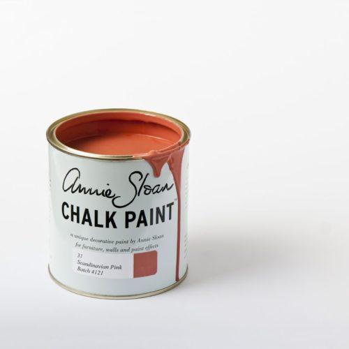 Farba 1L Scandinavian Pink Chalk Paint Annie Sloan otwarta puszka 1L