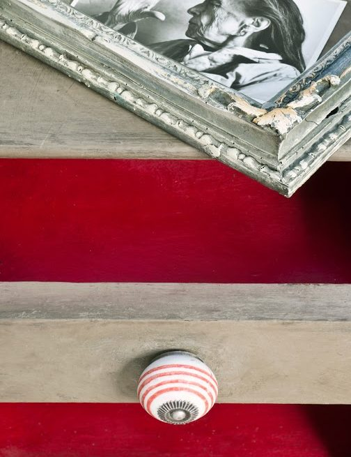 mebel pomalowany w kolorze Coco Chalk Paint Annie Sloan