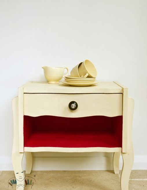 mebel pomalowany w kolorze Cream Chalk Paint Annie Sloan