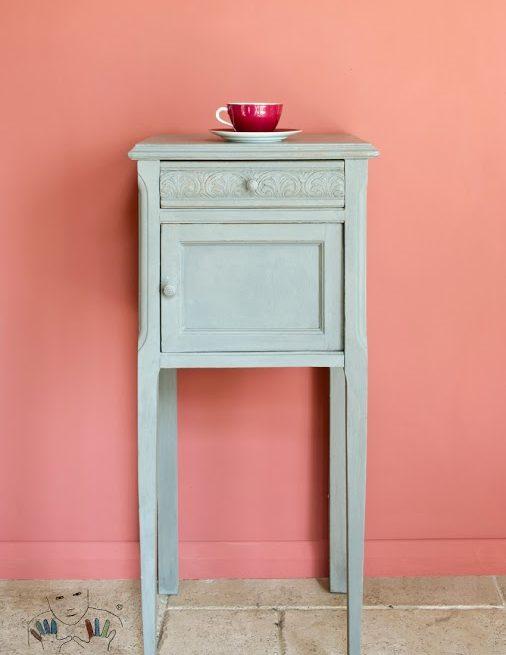 Mebel w kolorze french Linen Chalk paint Annie Sloan