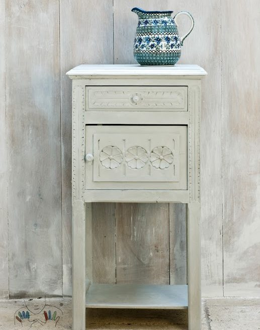 Mebel pomalowany kolorem Paris Grey Chalk Paint Annie sloan