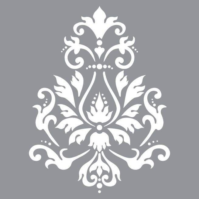 szablon Brocade Motif