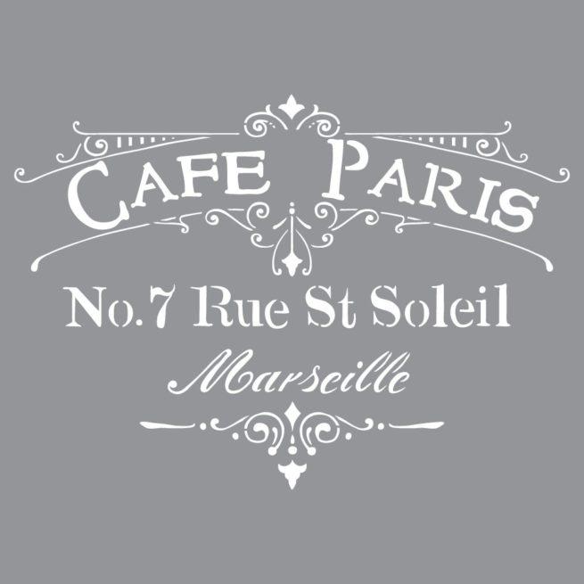 Szablon Cafe Paris