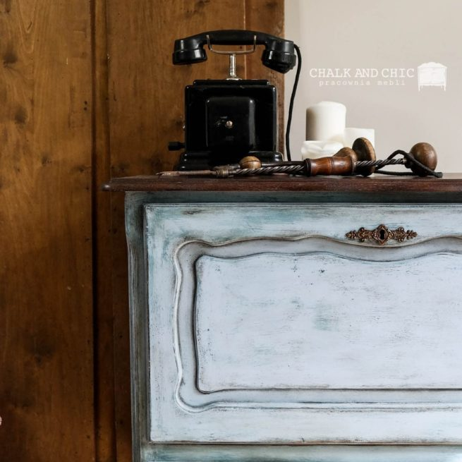 stary mebel odnowiony farbami chalk paint annie sloan