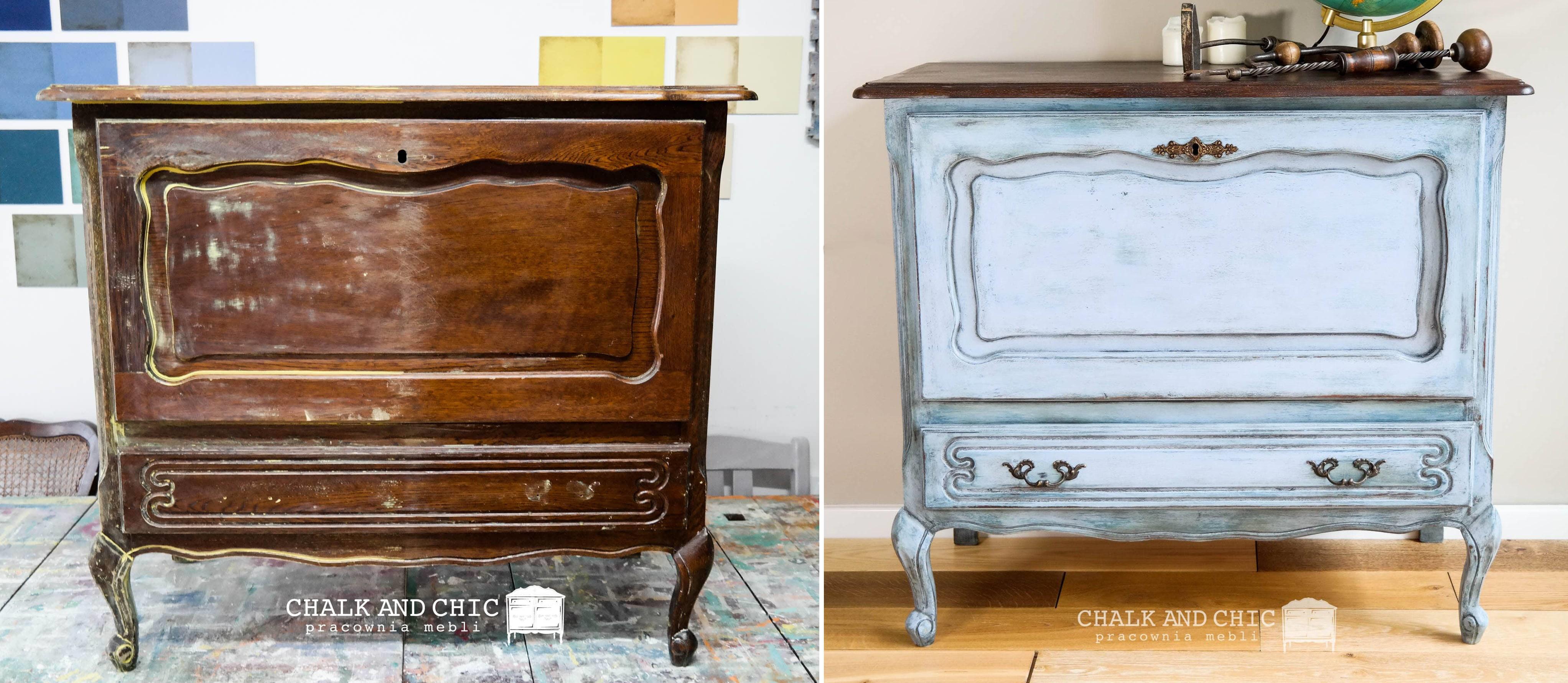 jak odnowić mebel w stylu vintage? malowanie, bejcowanie, krok po kroku