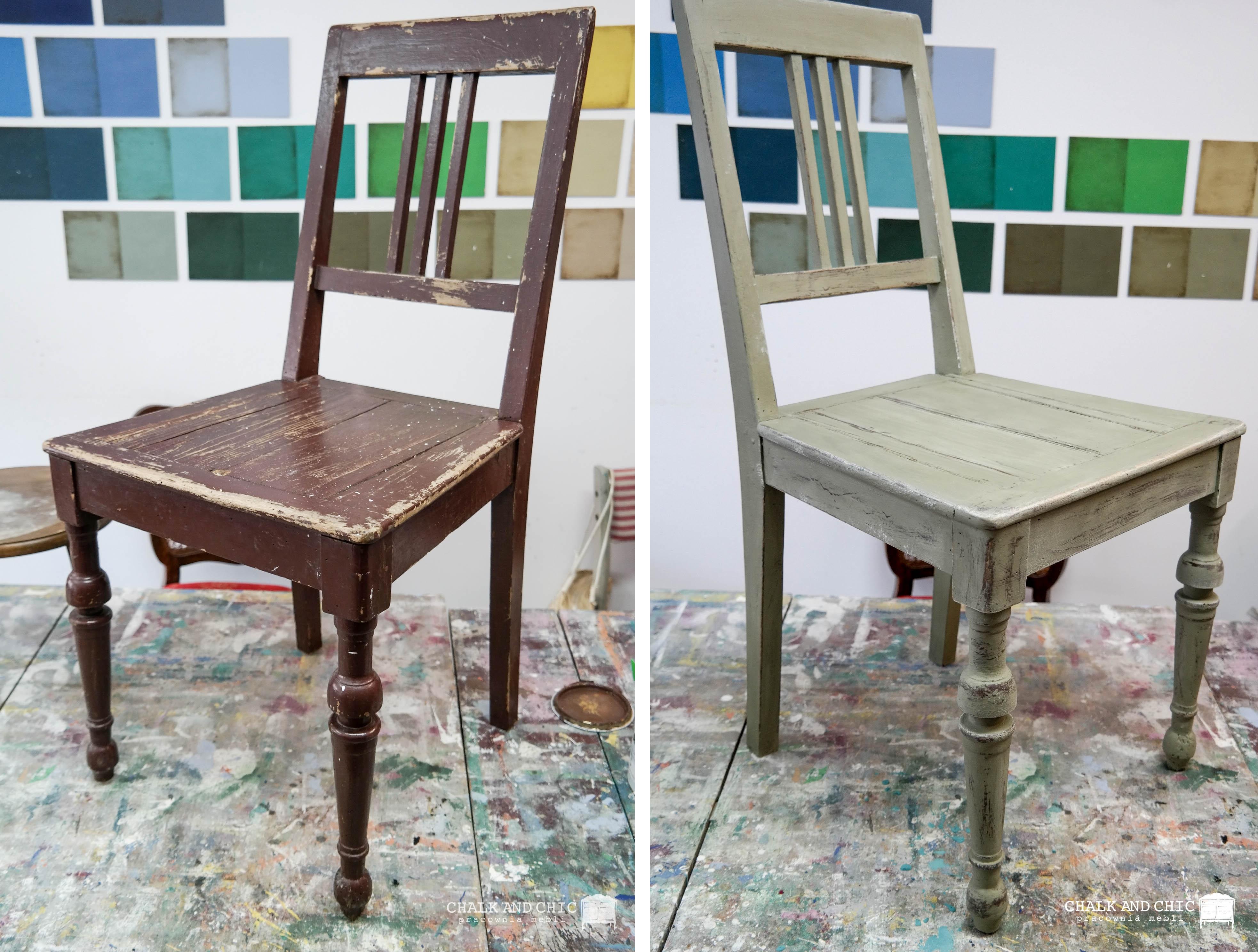 metamorfoza krzesła lublin