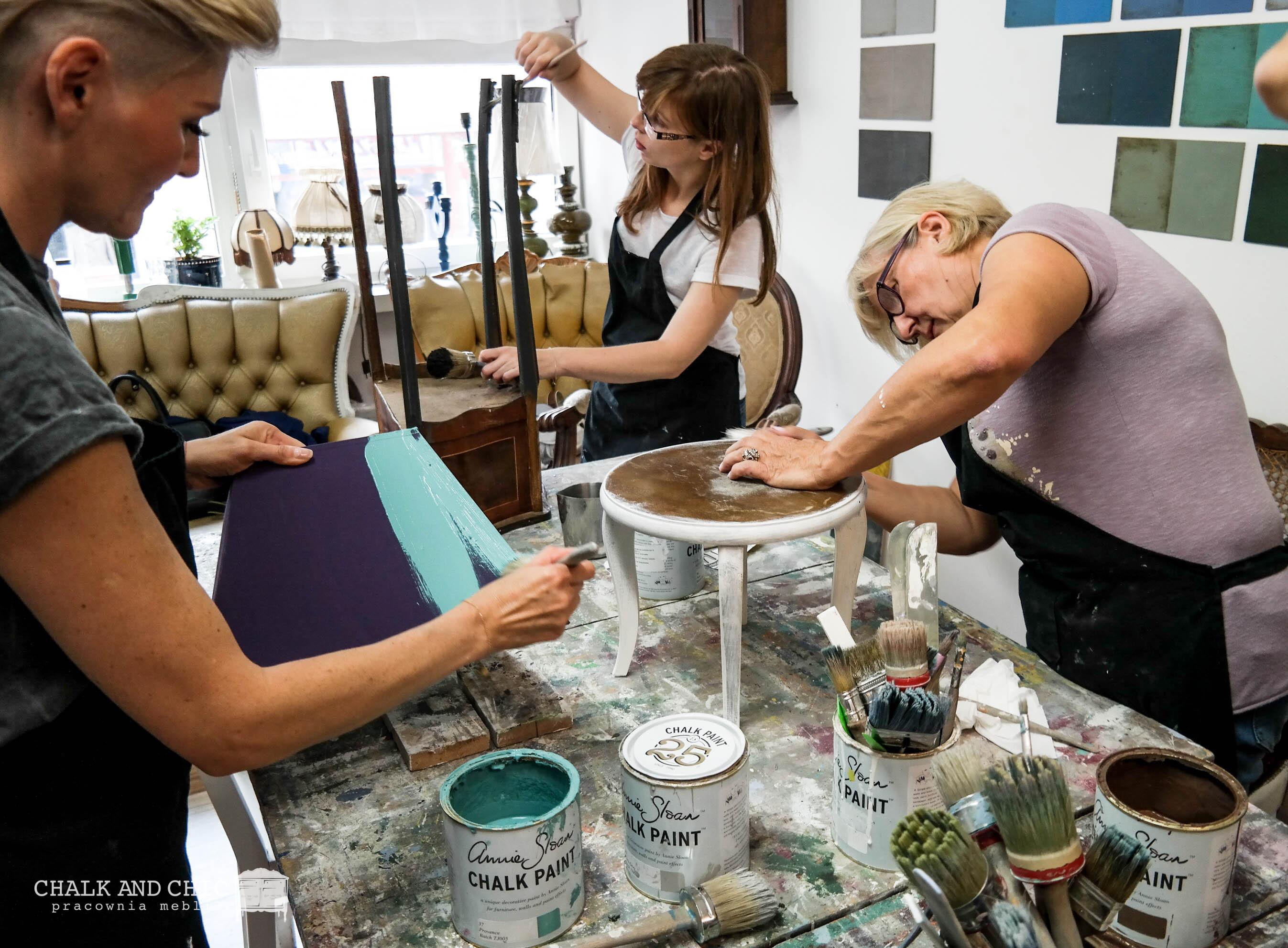 malowanie mebli warsztaty lublin