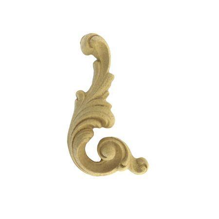 Ornament z pyłu drzewnego LEWY F560339L