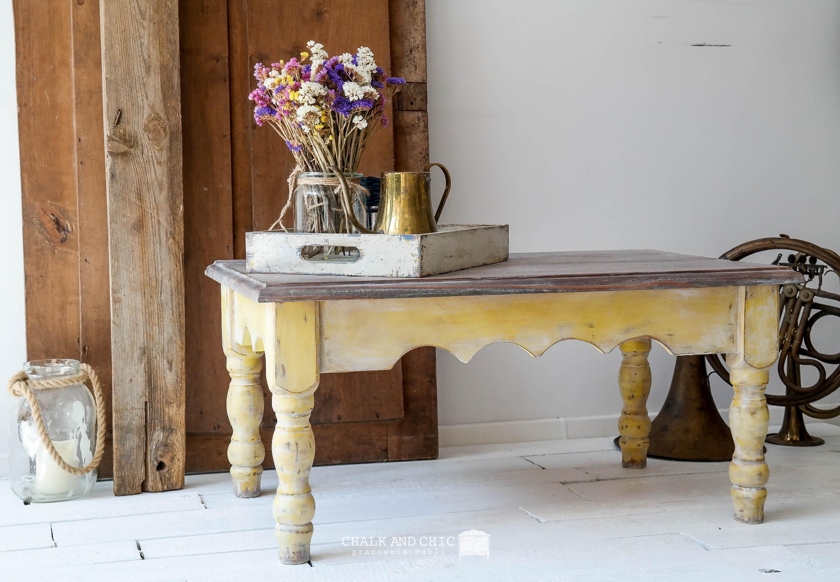 metamorfoza ławy/stolika kawowego