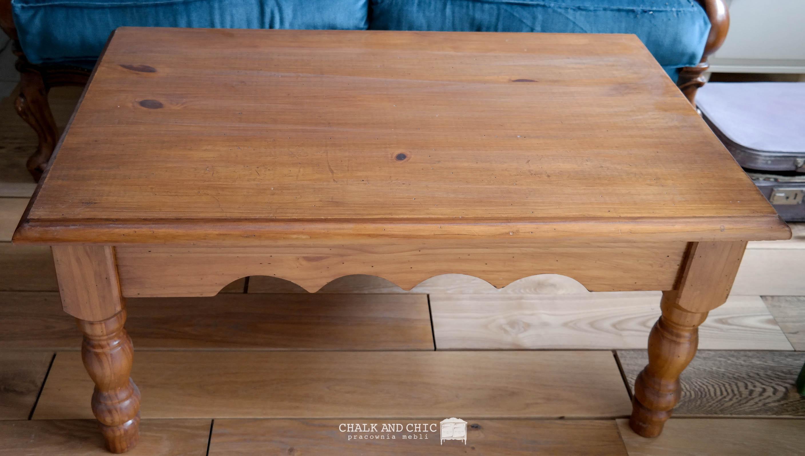 ława drewniana metamorfoza