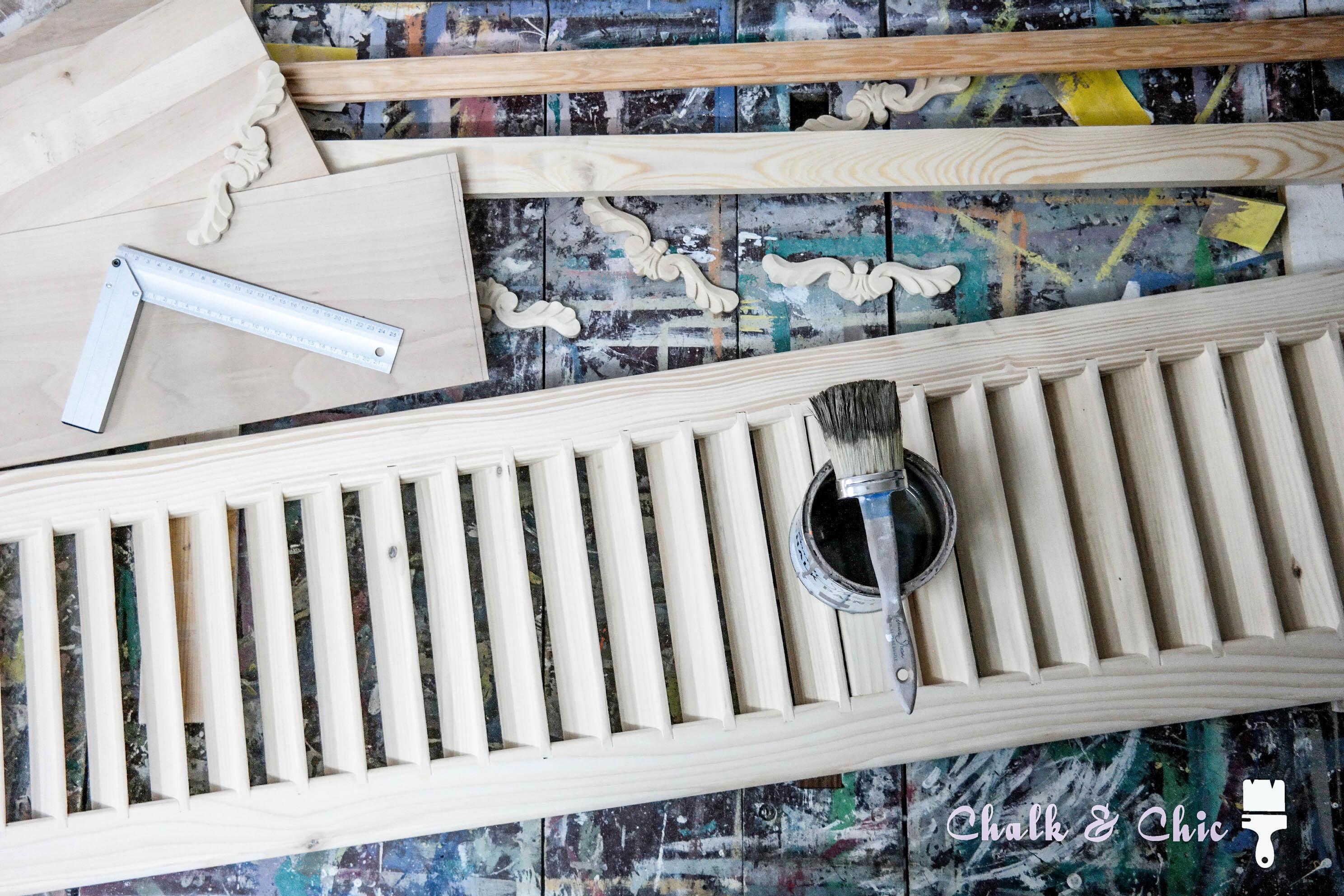 drewniane okiennice mebel z drewnianych okiennic DIY