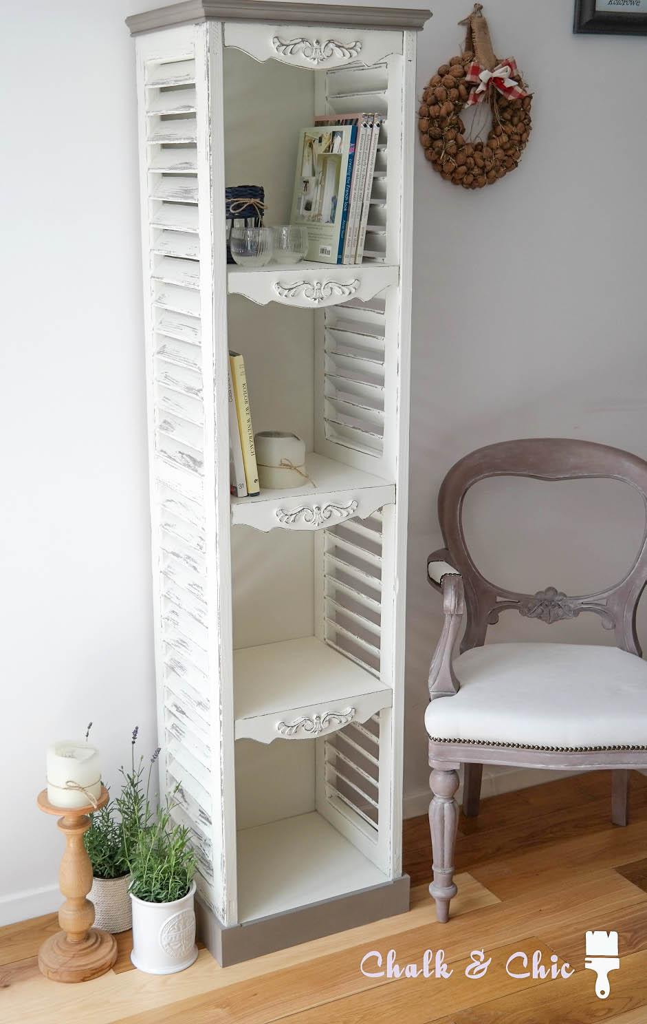 Mebel z drewnianych okiennic DIY shabby chic