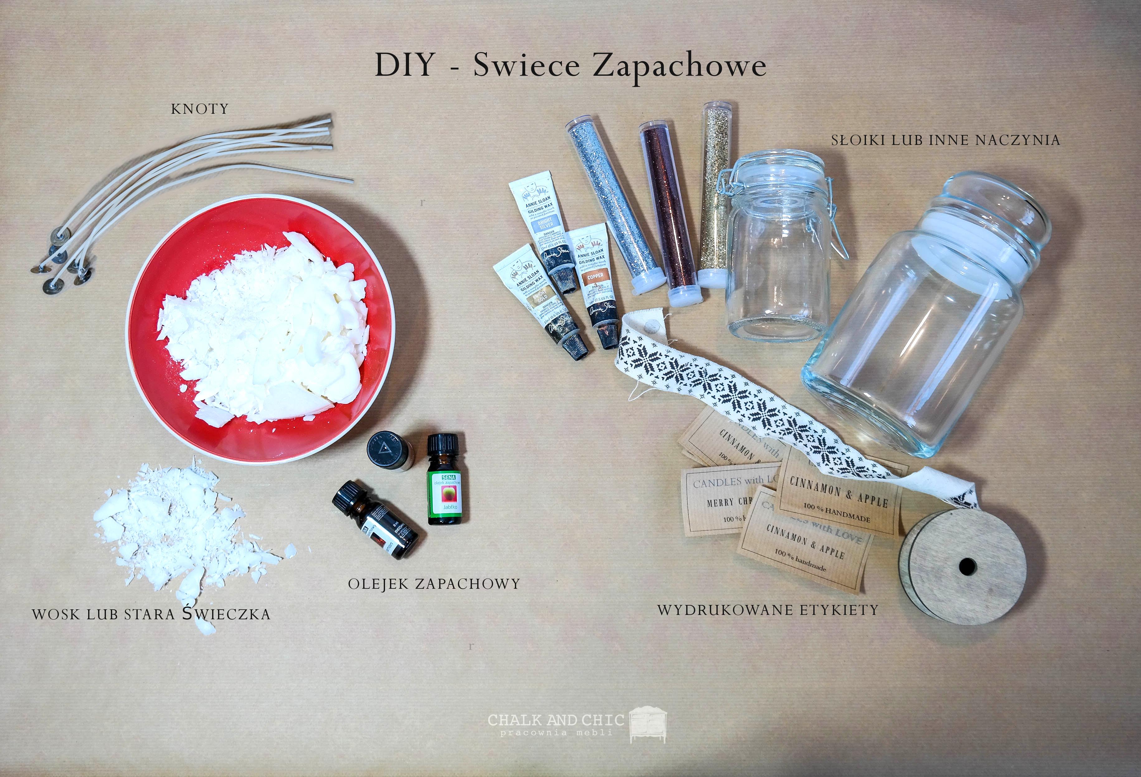 świece zapachowe DIY jak wykonać ?