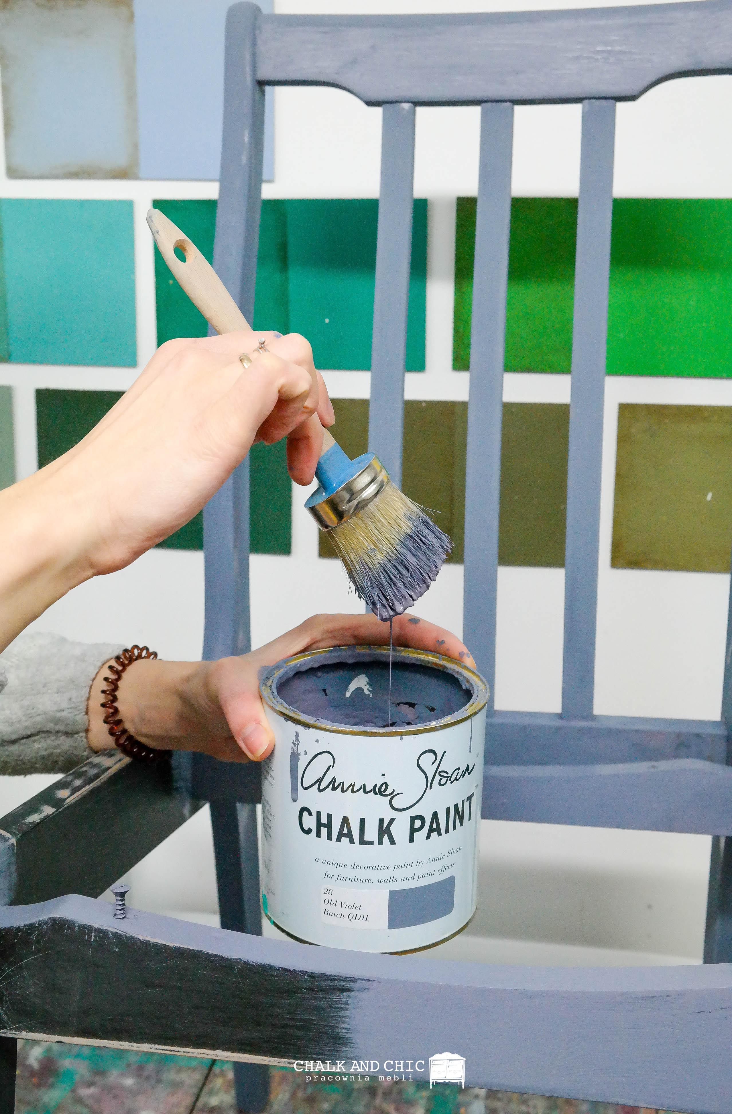 Chalk Paint Annie Sloan odnawianie mebli Lublin
