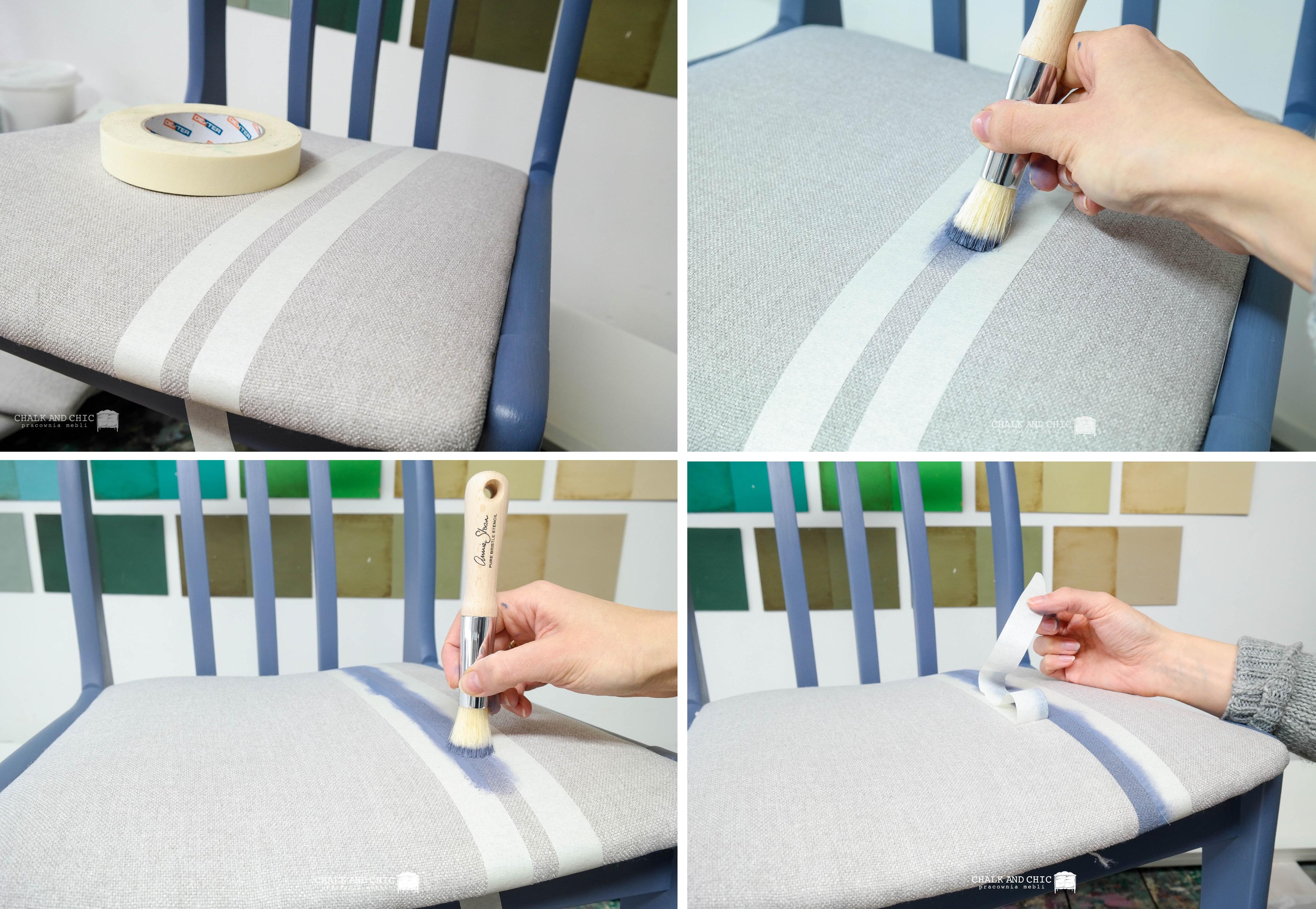 malowanie tapicerki farbami kredowymi