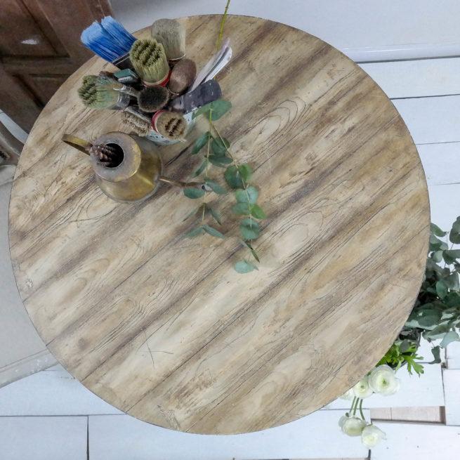 malowanie usłojenia za pomocą gumy