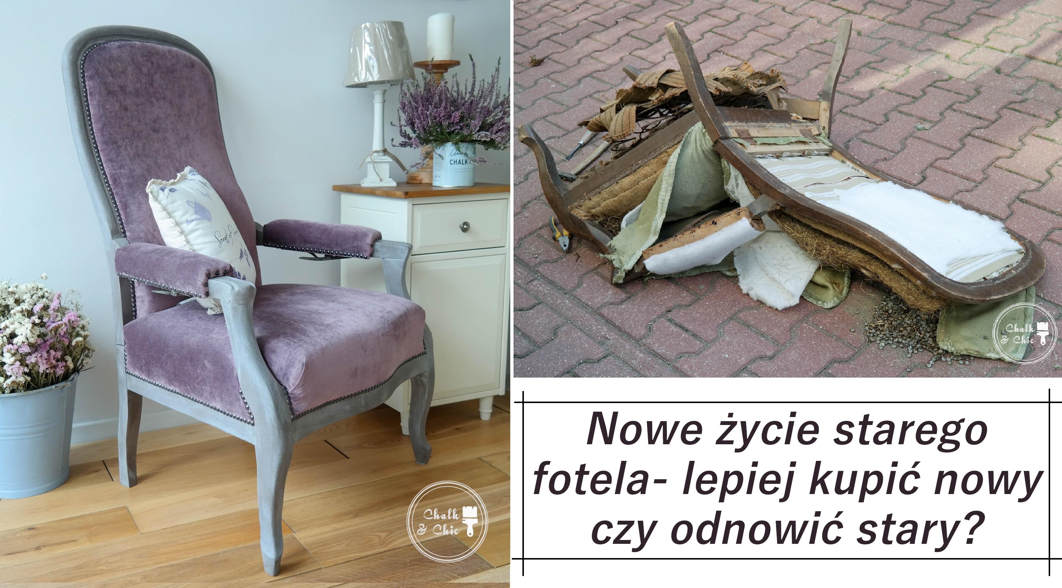 Nowe życie starego fotela