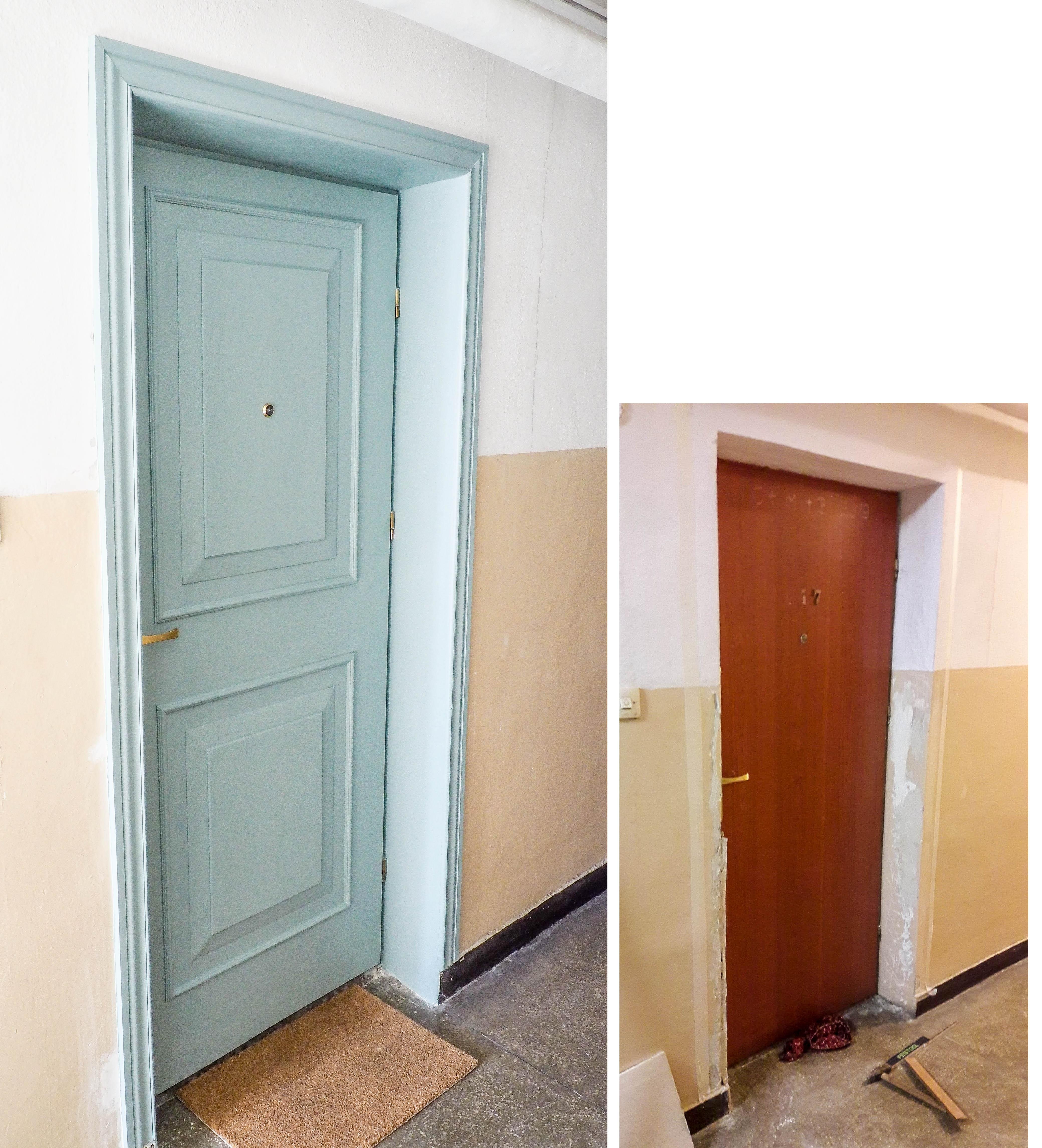 Annie Sloan Svenska Blue farba do malowania drzwi