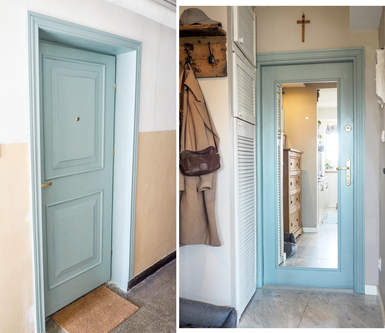 Metamorfoza drzwi w bloku