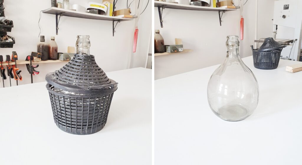 DIY Szklana Lampka