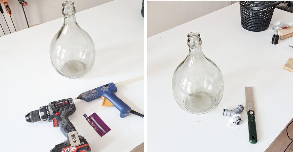 DIY Lampka szklana jak zrobić