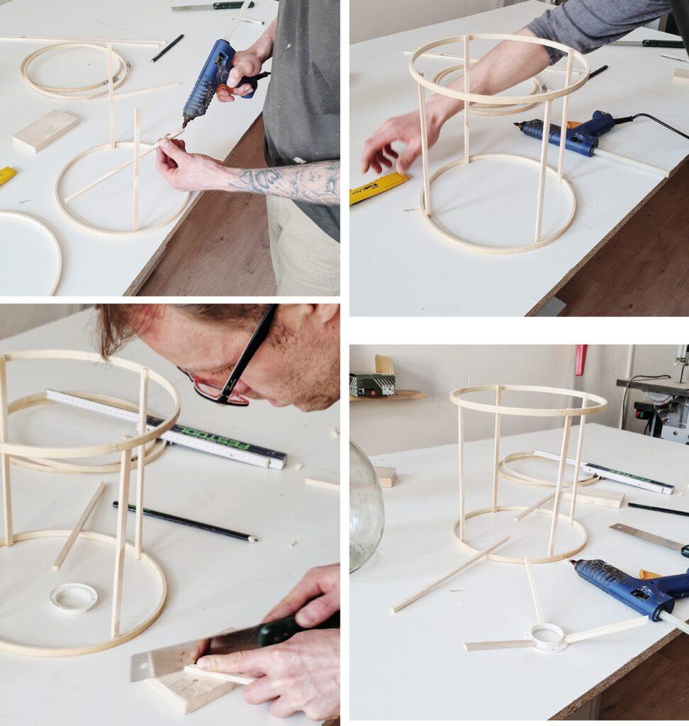 DIY Ratanowy abażur jak zrobić