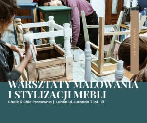 Warsztaty malowania i stylizacji mebli Lublin